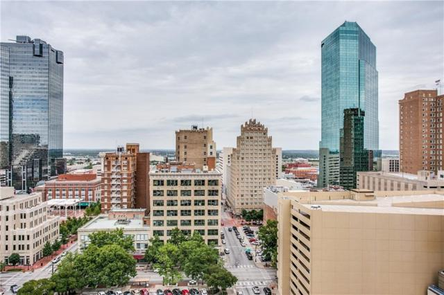 500 Throckmorton Street #1411, Fort Worth, TX 76102 (MLS #13674914) :: The Mitchell Group