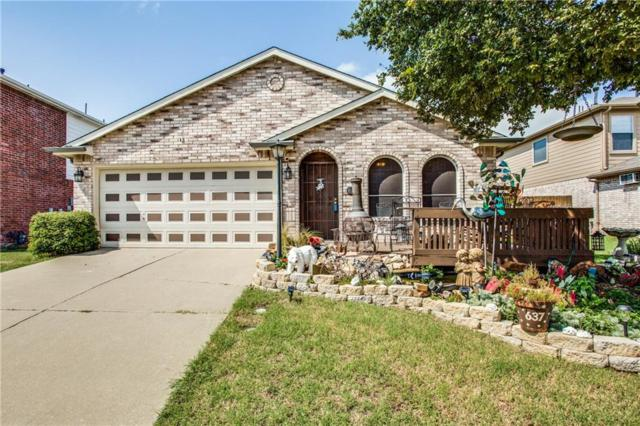637 Alcove Drive, Little Elm, TX 75068 (MLS #13675119) :: Real Estate By Design