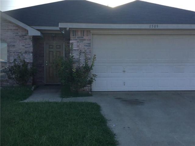 1509 Yellowbird Court, Desoto, TX 75115 (MLS #13676066) :: Pinnacle Realty Team