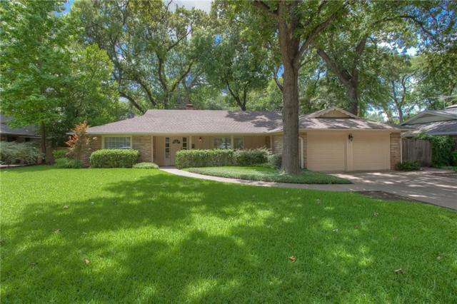 3200 Tanglewood Trail, Fort Worth, TX 76109 (MLS #13676378) :: The Mitchell Group