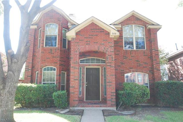 509 Ashford Drive, Coppell, TX 75019 (MLS #13677860) :: Team Hodnett