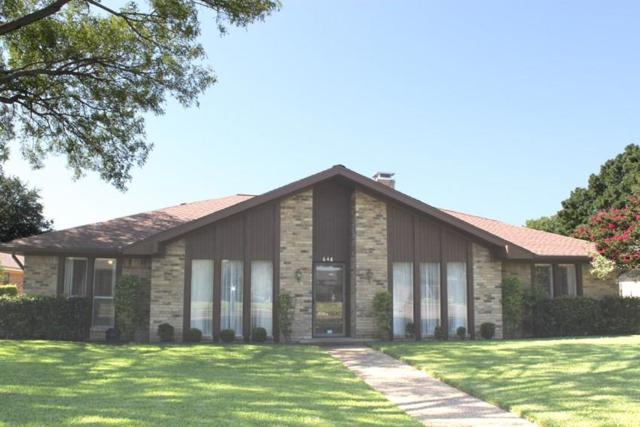 648 Stillmeadow Drive, Richardson, TX 75081 (MLS #13678424) :: The FIRE Group at Keller Williams