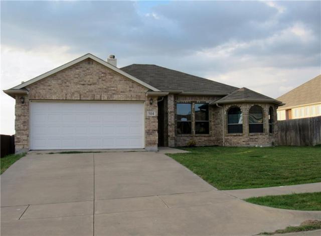 504 Boulder Creek Drive, Alvarado, TX 76009 (MLS #13683128) :: Potts Realty Group