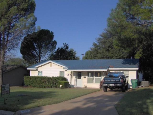 609 S Dixie, Eastland, TX 76448 (MLS #13684351) :: Team Hodnett