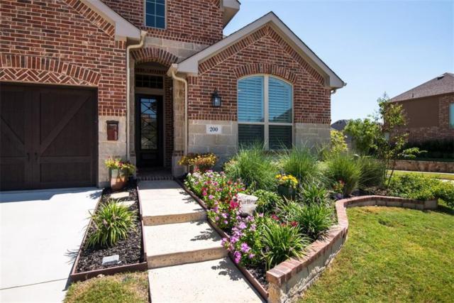 200 Sunrise Drive, Argyle, TX 76226 (MLS #13689803) :: The Real Estate Station