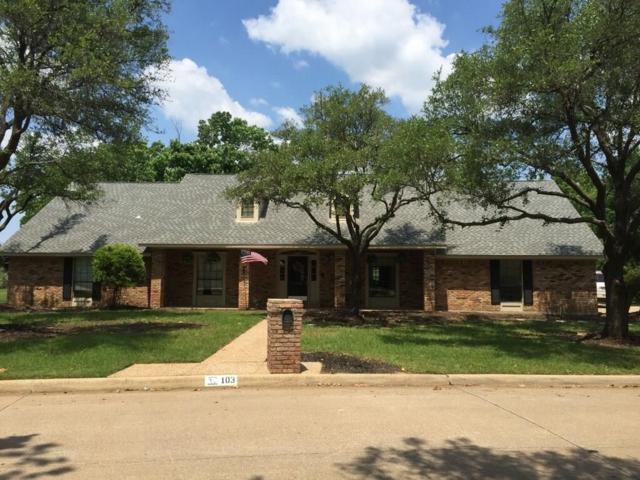 103 Seminole Drive, Trophy Club, TX 76262 (MLS #13692575) :: Exalt Realty
