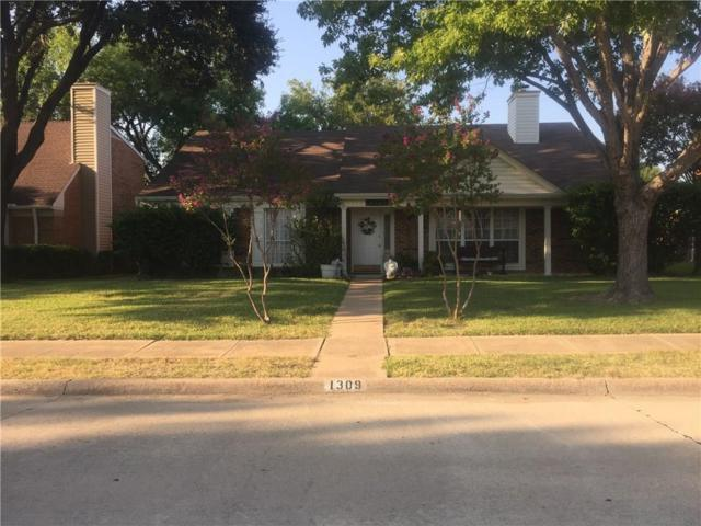 1309 Robincreek Cove, Lewisville, TX 75067 (MLS #13695895) :: Kimberly Davis & Associates