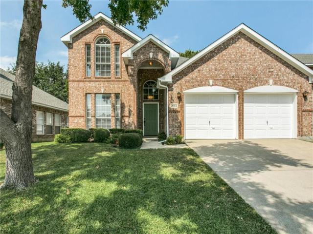 2145 Mahogany Street, Flower Mound, TX 75022 (MLS #13696293) :: Frankie Arthur Real Estate
