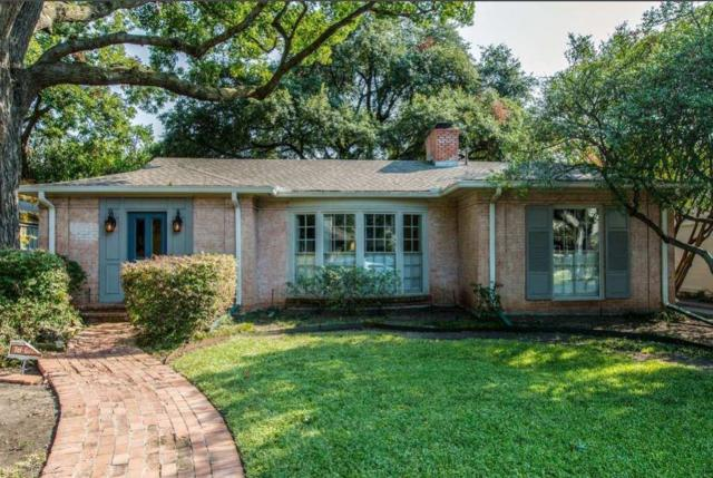 4629 Belclaire Avenue, Highland Park, TX 75209 (MLS #13696343) :: Exalt Realty