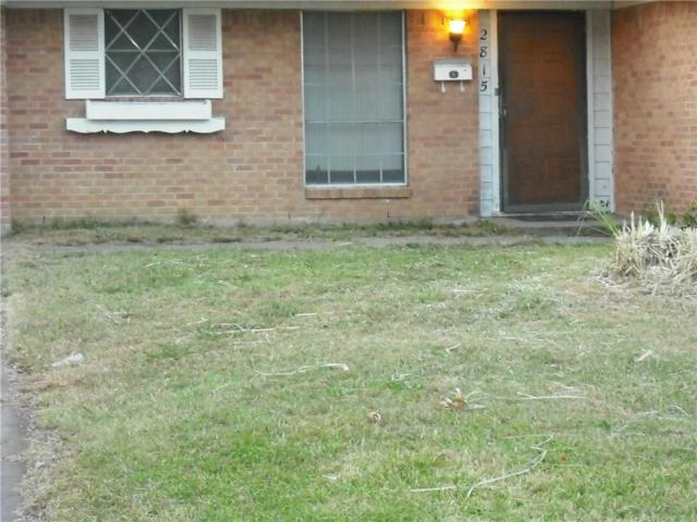 2815 Cary Drive, Mesquite, TX 75150 (MLS #13697310) :: The Real Estate Station