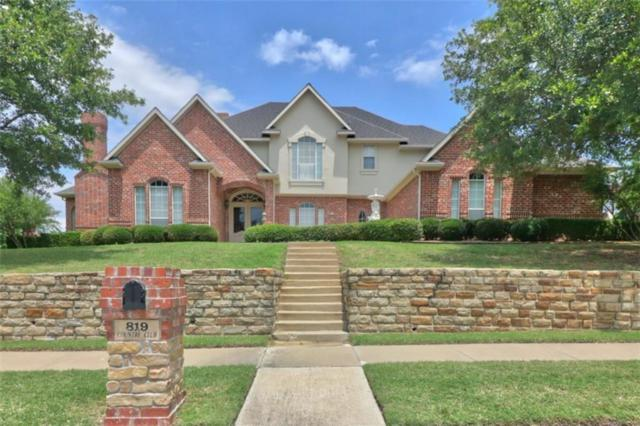 819 Country Club Drive, Heath, TX 75032 (MLS #13697371) :: Robbins Real Estate