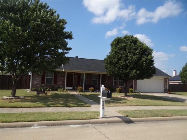 208 Westminster, Forney, TX 75126 (MLS #13698255) :: RE/MAX Landmark