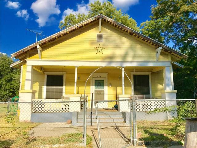 414 N Wilhite Street, Cleburne, TX 76031 (MLS #13698978) :: Potts Realty Group
