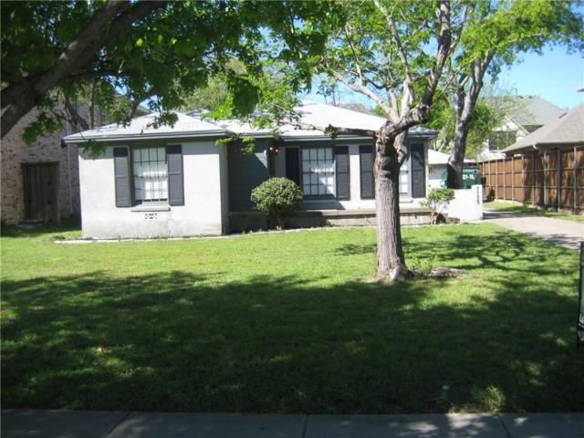7733 Lovers Lane, Dallas, TX 75225 (MLS #13699624) :: Team Hodnett
