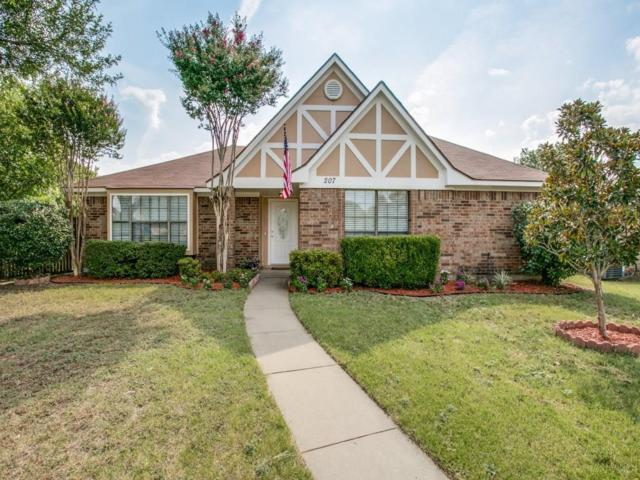 207 Carnation Drive, Allen, TX 75002 (MLS #13699671) :: The Cheney Group