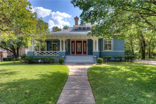 705 W Oak Street, Denton, TX 76201 (MLS #13699999) :: Team Tiller