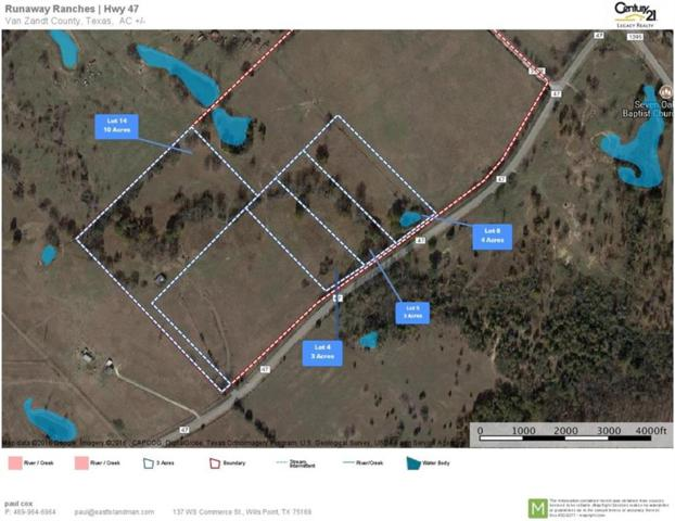 00 Fm 47 Highway, Wills Point, TX 75169 (MLS #13700975) :: The Cheney Group