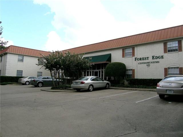 1401 Forest Edge Drive #17, Arlington, TX 76013 (MLS #13703143) :: Team Hodnett