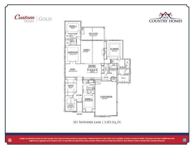 351 Tavenner Lane, Sunnyvale, TX 75182 (MLS #13706946) :: Exalt Realty