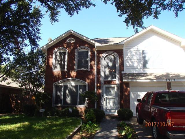 2317 Belton Drive, Arlington, TX 76018 (MLS #13708326) :: RE/MAX