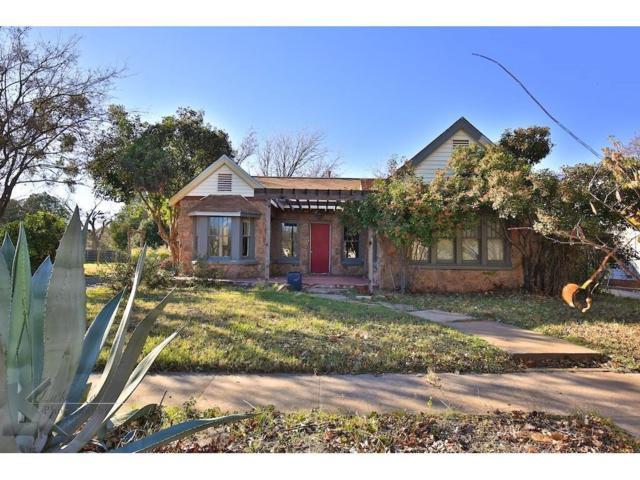 1642 Sycamore Street, Abilene, TX 79602 (MLS #13709900) :: The Tonya Harbin Team