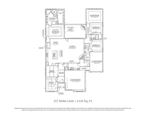 317 Nora Lane, Argyle, TX 76226 (MLS #13710539) :: The Real Estate Station