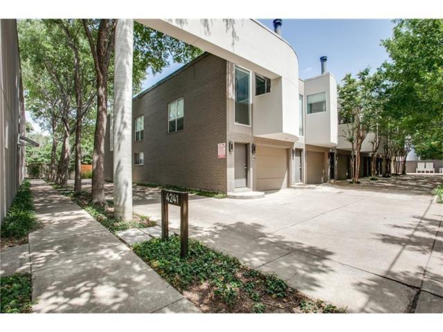 4241 Buena Vista Street #11, Dallas, TX 75205 (MLS #13710554) :: Exalt Realty