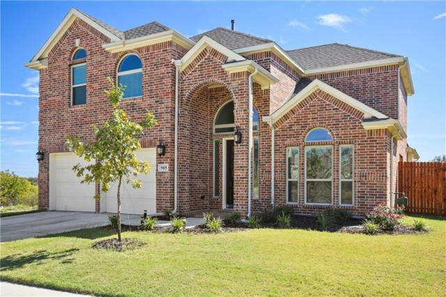 905 Frisco Hills Boulevard, Little Elm, TX 75068 (MLS #13711468) :: Team Hodnett