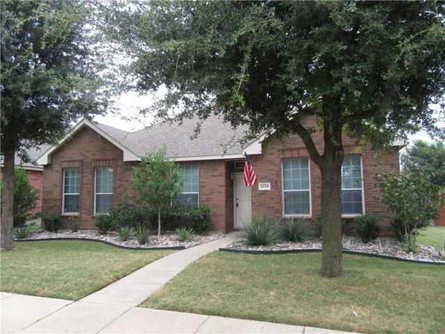 1539 Cliff Creek Drive, Allen, TX 75002 (MLS #13711956) :: The Good Home Team
