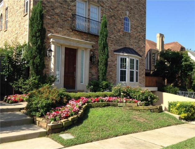 4120 Hawthorne Avenue #3, Dallas, TX 75219 (MLS #13712106) :: Ebby Halliday Realtors