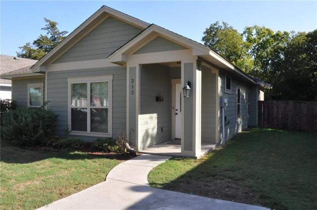 212 Lewis Street, Waxahachie, TX 75165 (MLS #13712273) :: Century 21 Judge Fite Company
