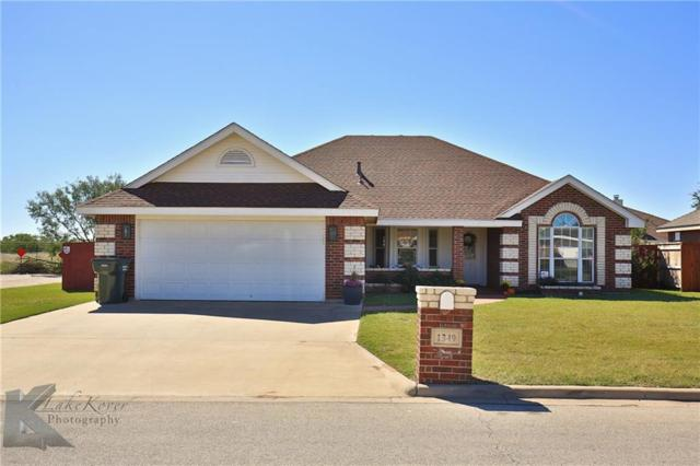 1349 Tulane Drive, Abilene, TX 79602 (MLS #13713665) :: The Tonya Harbin Team