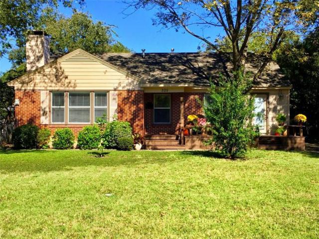 329 Huffhines Street, Richardson, TX 75081 (MLS #13714001) :: The Good Home Team