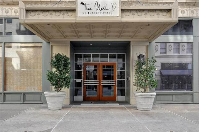 411 W 7th Street #708, Fort Worth, TX 76102 (MLS #13714075) :: The Mitchell Group