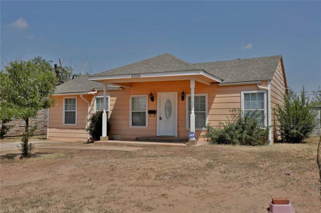 2226 N 18th Street, Abilene, TX 79603 (MLS #13714458) :: The Tonya Harbin Team