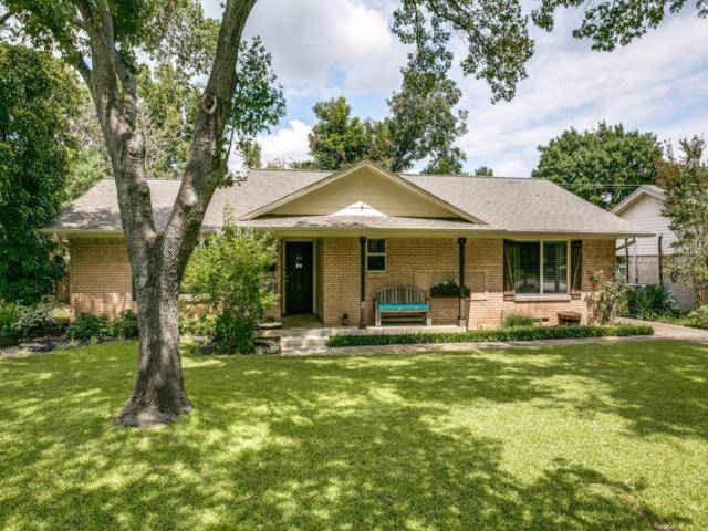 6718 Kingsbury Drive, Dallas, TX 75231 (MLS #13714706) :: Kindle Realty