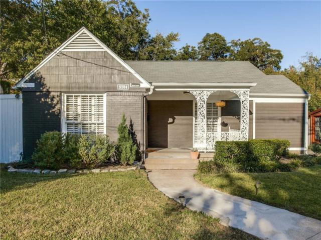 5104 Maple Springs Boulevard, Dallas, TX 75235 (MLS #13714804) :: RE/MAX