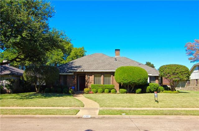 2307 Silver Holly Lane, Richardson, TX 75082 (MLS #13715057) :: The Good Home Team