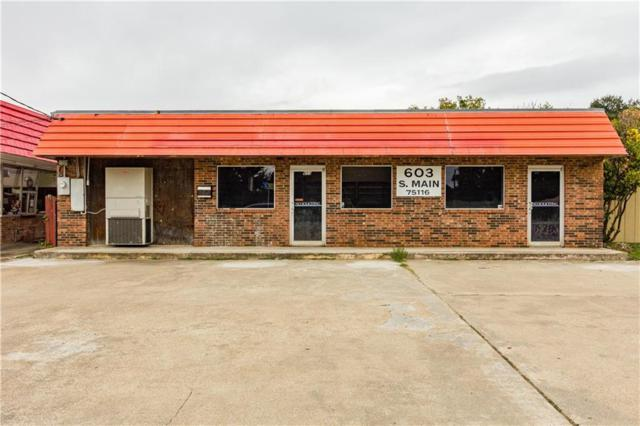 603 S Main Street, Duncanville, TX 75116 (MLS #13715299) :: Pinnacle Realty Team