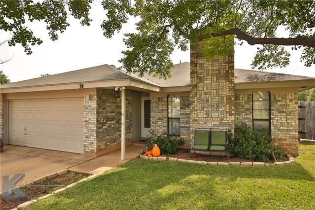 34 Queen Anns Lace, Abilene, TX 79606 (MLS #13715811) :: The Tonya Harbin Team