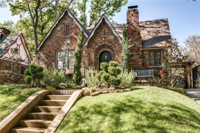 6923 Vivian Avenue, Dallas, TX 75223 (MLS #13716030) :: RE/MAX