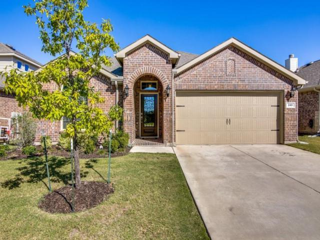 240 Callaghan Drive, Fate, TX 75189 (MLS #13716073) :: Exalt Realty