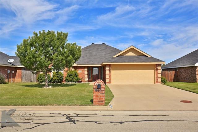 850 Swift Water Drive, Abilene, TX 79602 (MLS #13716156) :: The Tonya Harbin Team