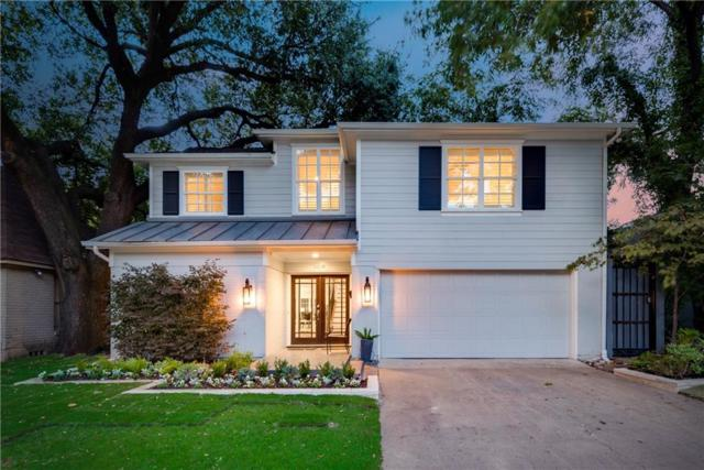 3614 Granada Avenue, University Park, TX 75205 (MLS #13716321) :: Team Hodnett