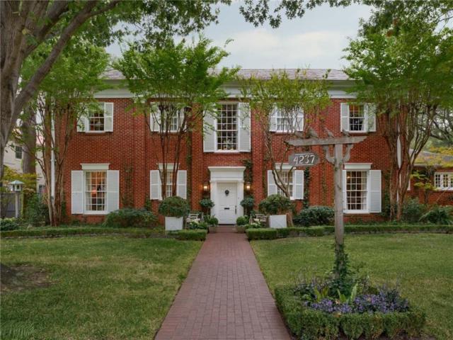 4237 Arcady Avenue, Highland Park, TX 75205 (MLS #13716480) :: Robbins Real Estate