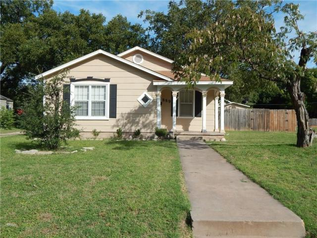 889 Grove Street, Abilene, TX 79605 (MLS #13716486) :: The Tonya Harbin Team