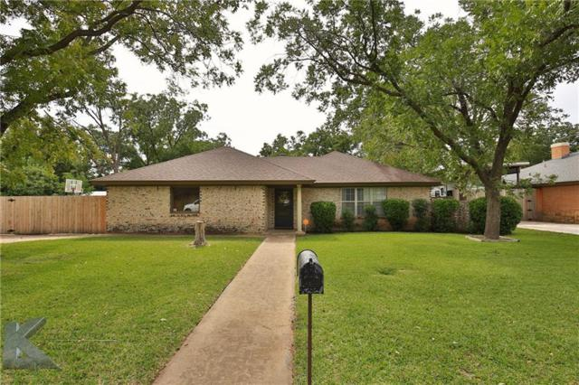 25 Cobblestone Lane, Abilene, TX 79606 (MLS #13716637) :: The Tonya Harbin Team