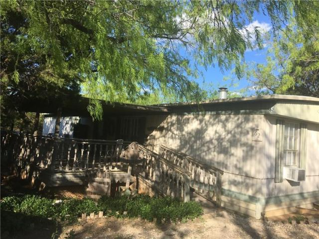 201 Rock Creek Road #62, Possum Kingdom Lake, TX 76449 (MLS #13716762) :: The Tonya Harbin Team