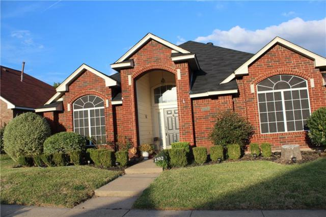 1502 Tuley Street, Cedar Hill, TX 75104 (MLS #13716907) :: Pinnacle Realty Team
