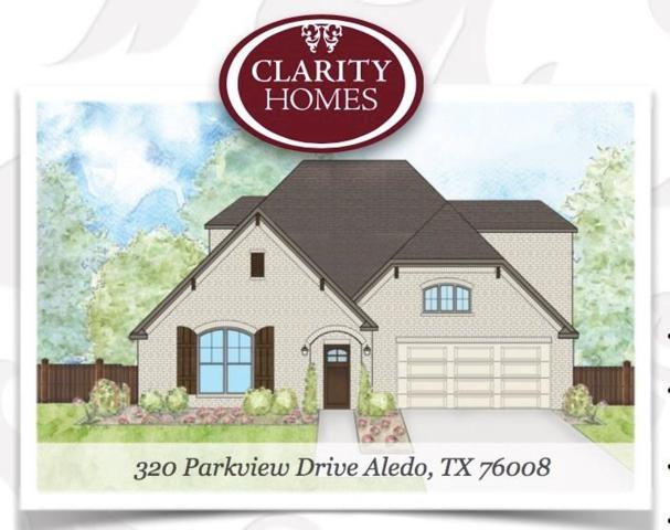 320 Parkview Drive, Aledo, TX 76008 (MLS #13717068) :: The Mitchell Group